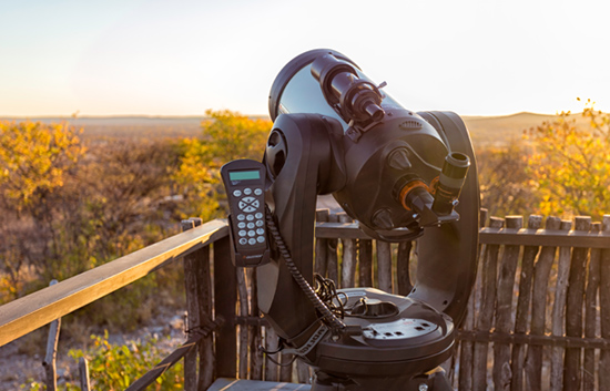 Stargazing at Etosha Village