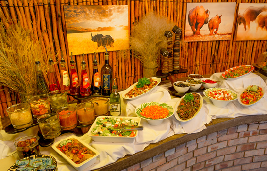 Etosha Village Buffet Dinner