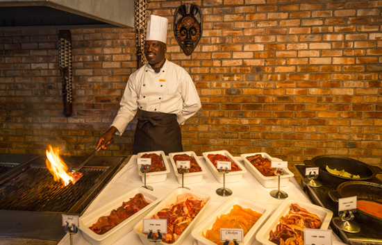 Etosha Village Buffet Dinner Grill