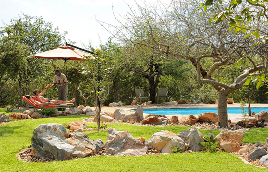 Etosha Village Pool and Garden Area