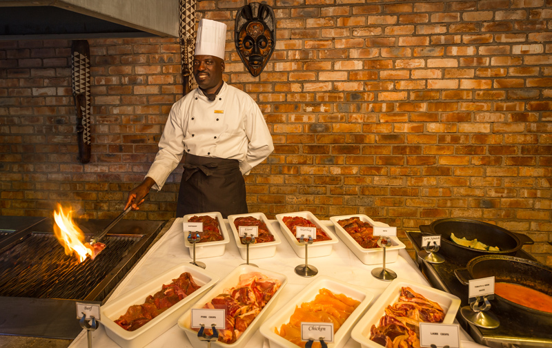Etosha Village Buffet Grill Station