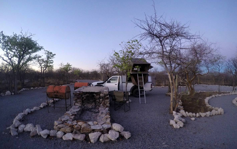 Etosha Village Camp Site