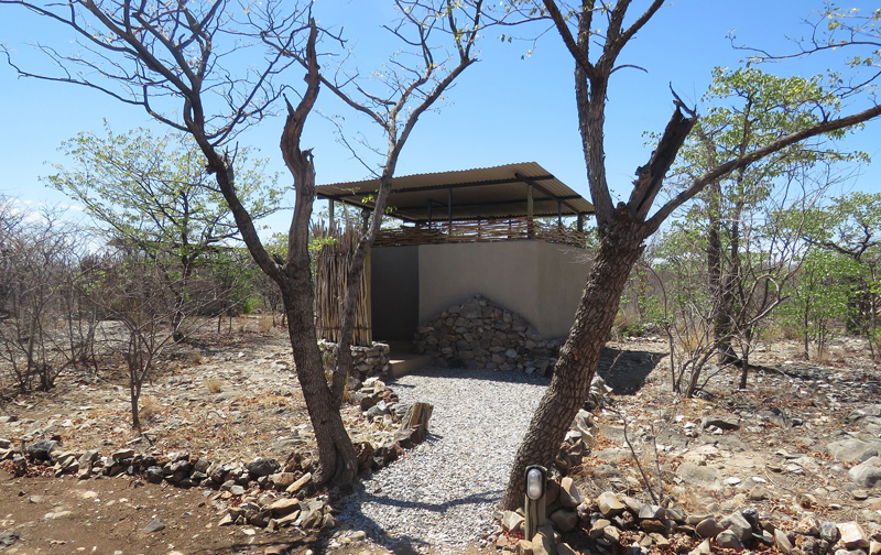 Etosha Village Individual Camp Site Ablusion