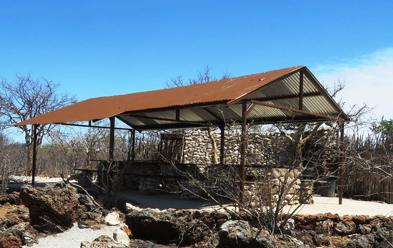 Etosha Village Group Camp Site Facilities