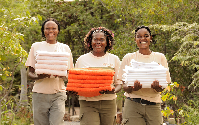 Etosha Village Friendly Staff