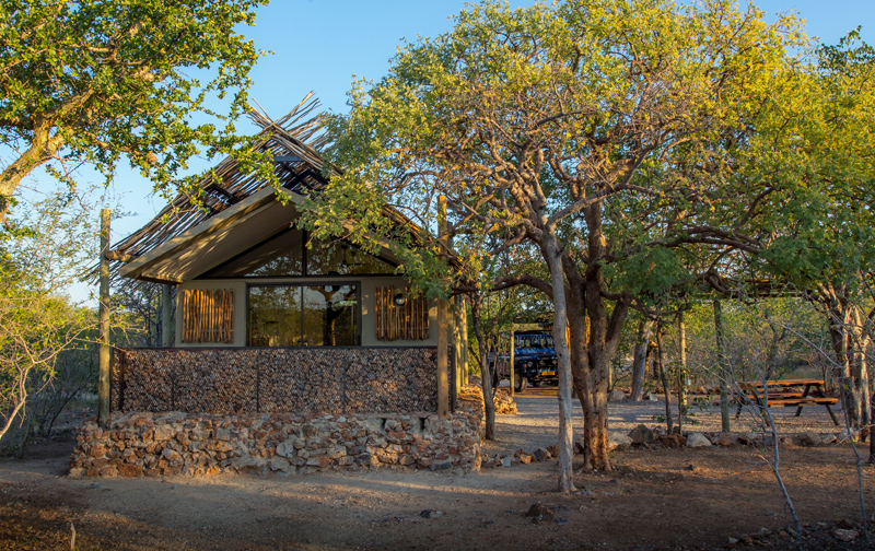 Etosha Village Unit from Outside