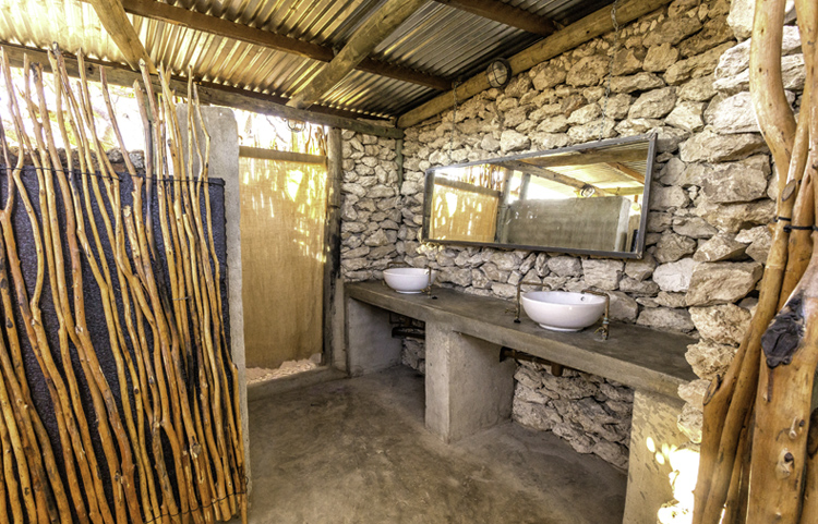 Etosha Village Group Campsite Ablution