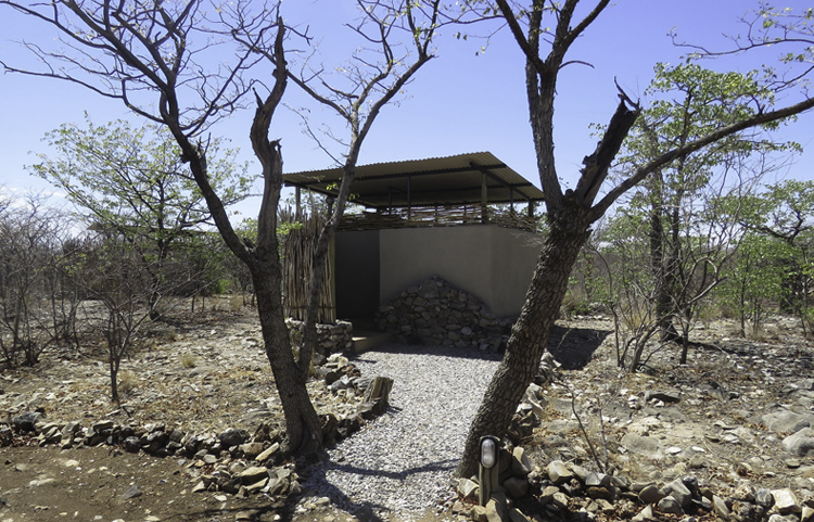 Etosha Village Private Campsite Ablution