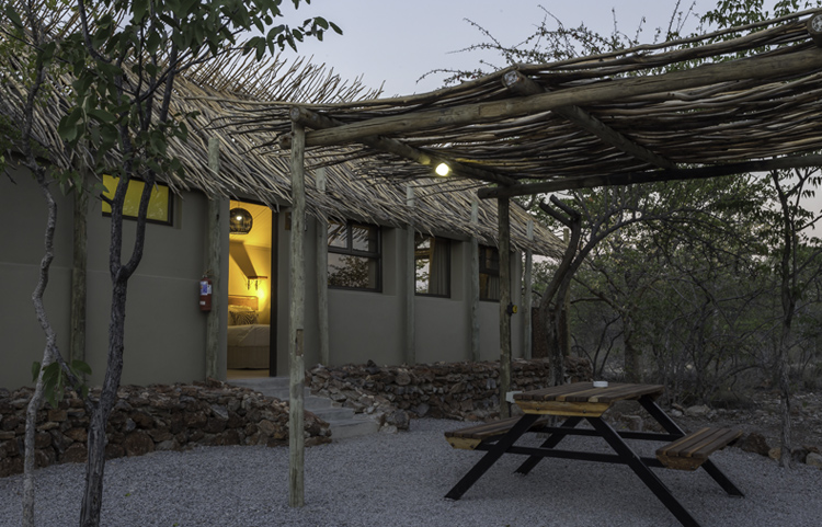 Etosha Village Outside Seating