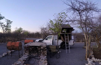 Etosha Village Camping Facilities